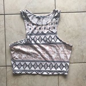 Tribal Tank Croptop